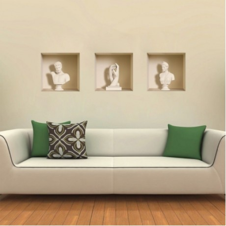 3D Wall Sticker Art ...