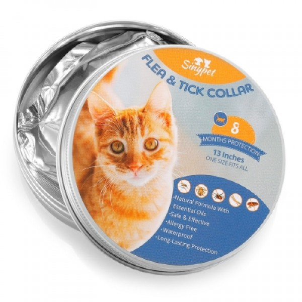 Flea & Tick Protective Collar for Cats 13 inches