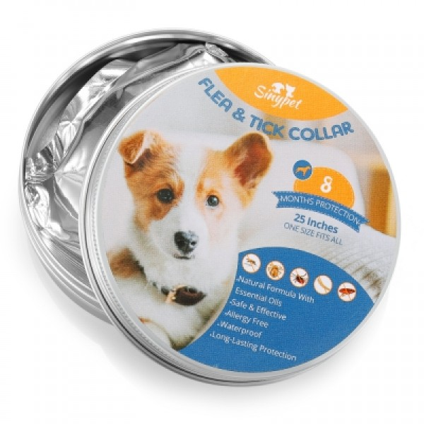 Flea & Tick Protective Collar for Dogs 25 inches