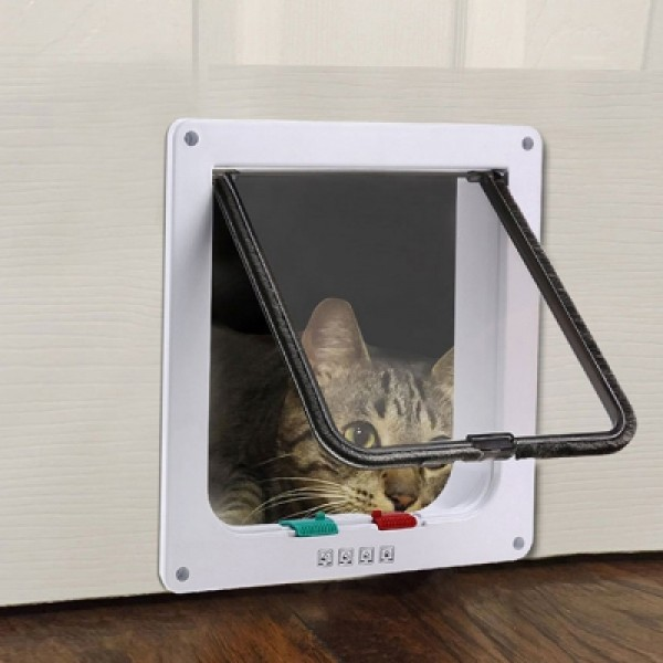 Kimpets Lockable Dog Cat Security Flap Door