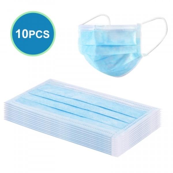 10PCS Disposable Face Masks