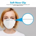 5PCS KN95 4-layer Face Masks With FDA And CE Certification Elastic Ear Loop