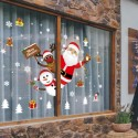 Christmas Window Glass Snowflake Sticker SK9241