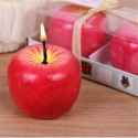 Christmas Apple Candle