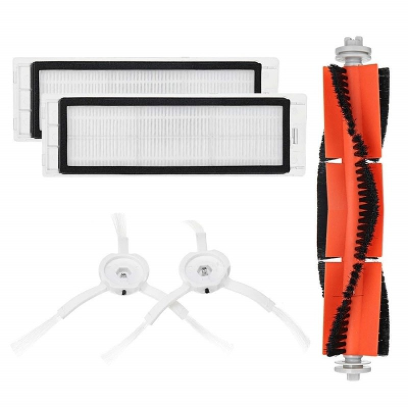 Main Brush Filters Side Brushes Accessories for XIAOMI MI Robot